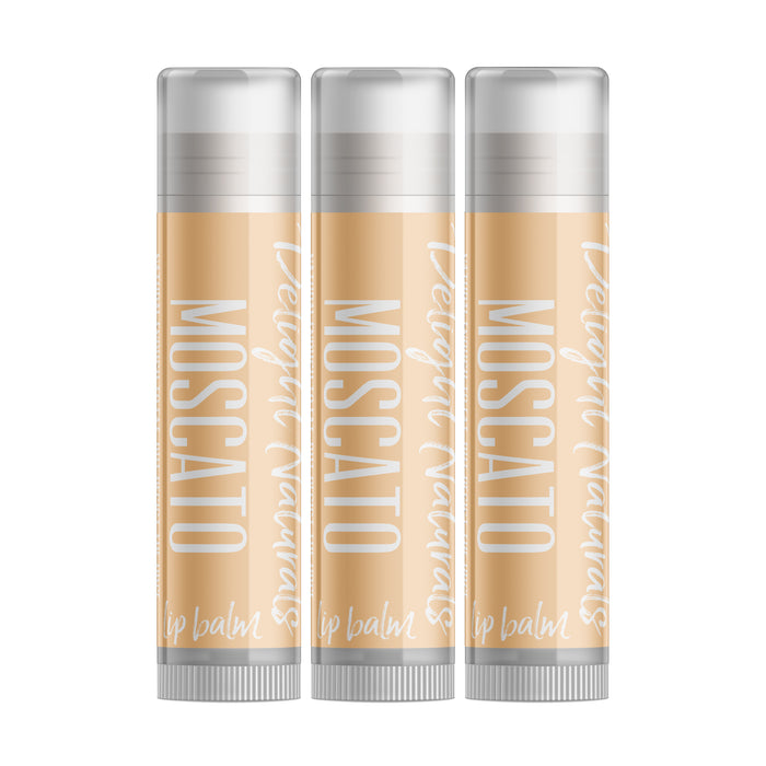 Moscato Wine Lip Balm - Three Pack - delight-naturals
