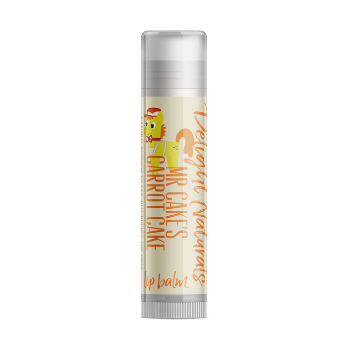 Mr Cake's Carrot Cake Lip Balm - Delight Naturals