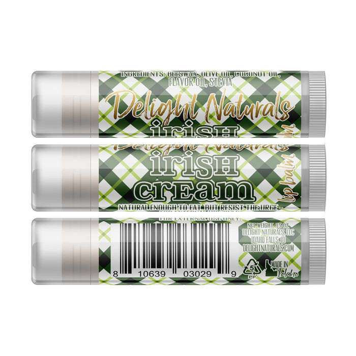 Irish Cream Lip Balm - Set of Three