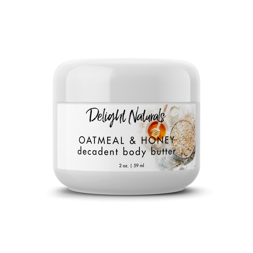 Oatmeal & Honey Decadent Body Butter