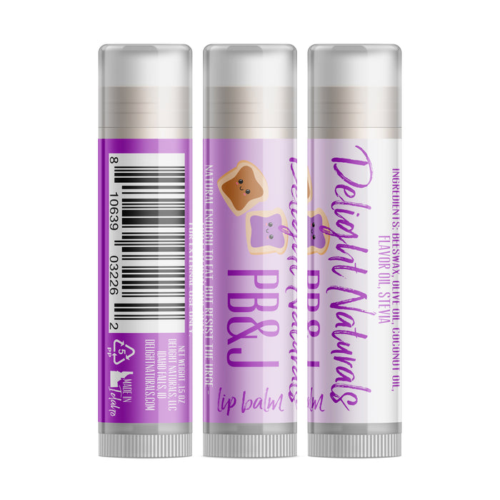 PB&J Lip Balm (Grape)