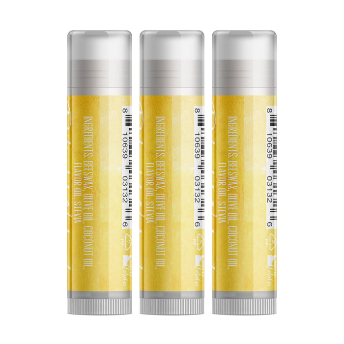 Pineapple Lip Balm - Three Pack - delight-naturals
