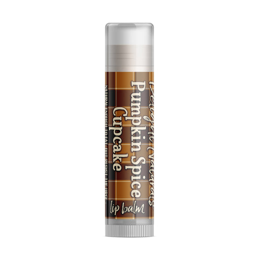 Pumpkin Spice Cupcake Lip Balm - Fall Flannels Limited Edition