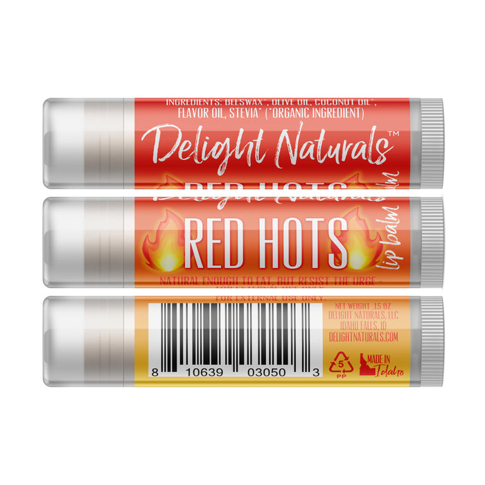 Red Hots Lip Balm - Three Pack