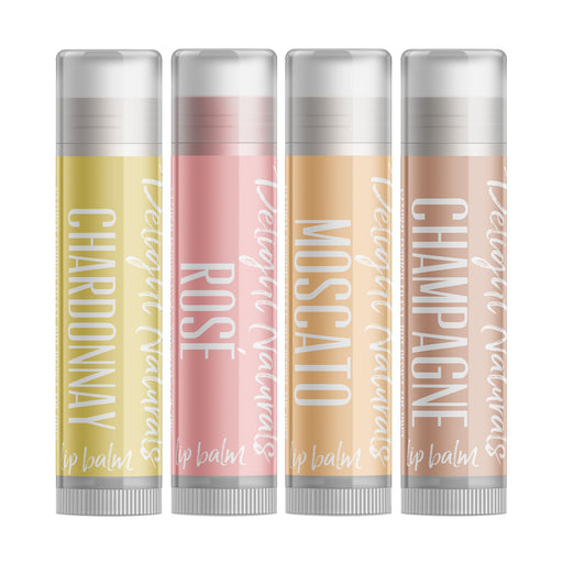Smooth Sippin' White Wine Lip Balm Set - delight-naturals