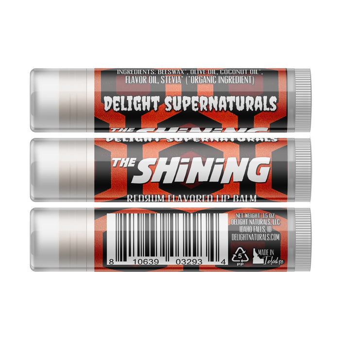 The Shining Redrum Lip Balm - Single Tube