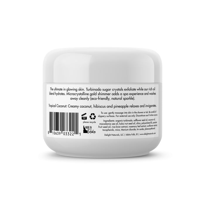 Tropical Coconut Decadent Body Scrub