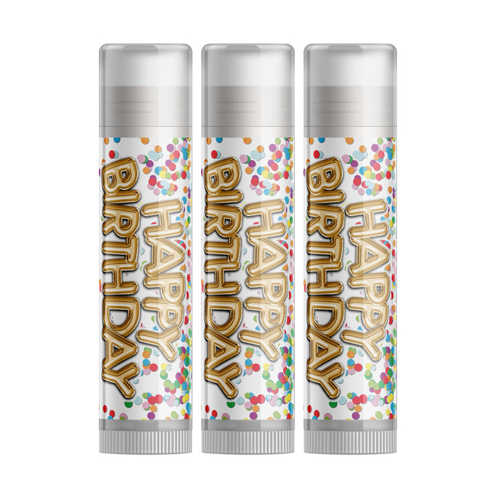 Birthday Cake Lip Balm - Three Pack (Vanilla)