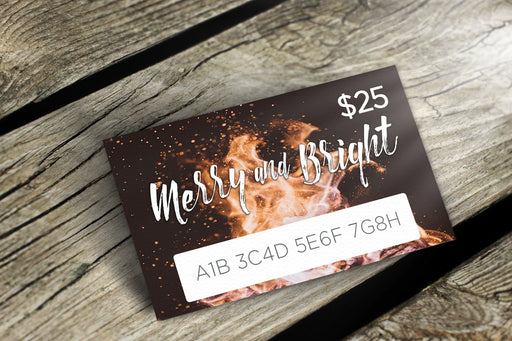 Voyageur Gift Card Merry and Bright - delight-naturals