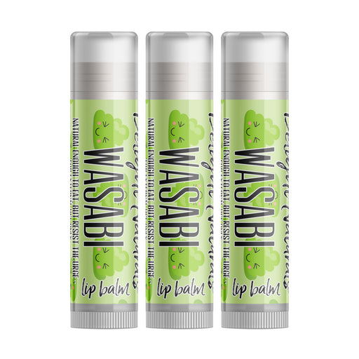 Wasabi Lip Balm - Three Pack - delight-naturals
