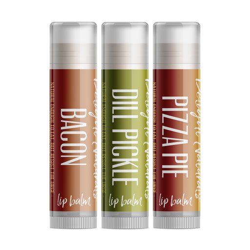 Weird Flavor Fun Lip Balm Set