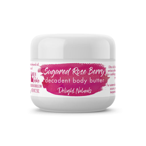 Sugared Rose Berry Decadent Body Butter - delight-naturals