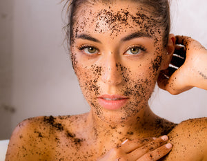 'Coco + Gold' Coffee Scrub