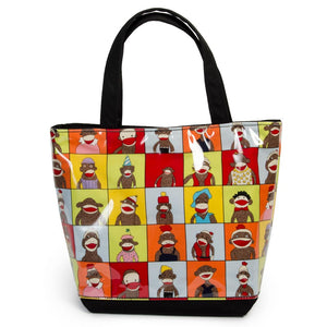 Sock Monkey Tote by Yancha