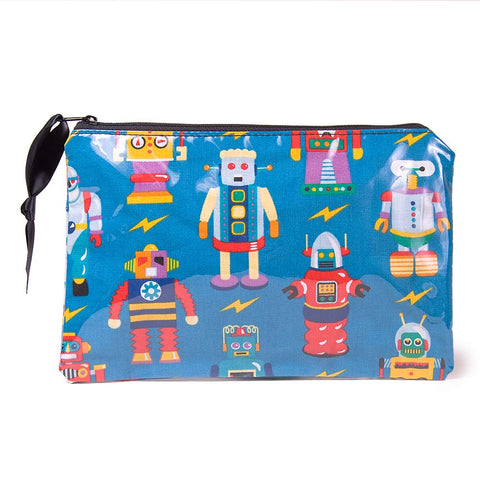 Robot Cosmetic Bag by Yancha