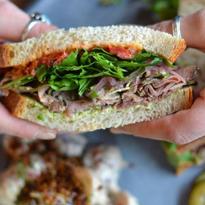 Roasted Lamb Leg Sandwich Boxed Lunch