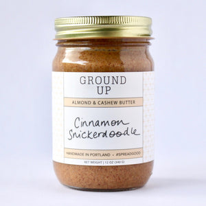 Cinnamon Snickerdoodle Almond & Cashew Nut Butter