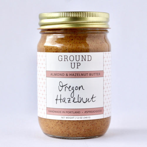 Oregon Hazelnut & Almond Nut Butter