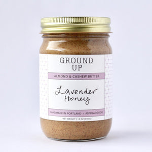 Lavender Honey Almond & Cashew Nut Butter