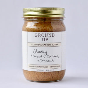 Chunky Almond, Cashew & Coconut Nut Butter