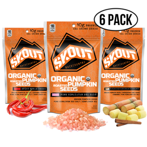 Skout Organic Pumpkin Seeds (6-pack Multiple Flavors)
