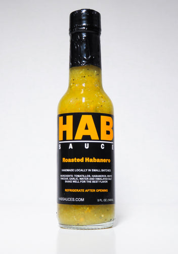 Roasted Habanero Hot Sauce