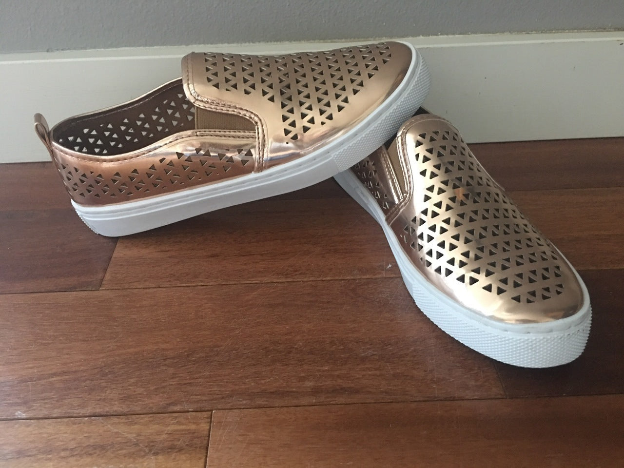 Coming Up Rose Gold Shoes