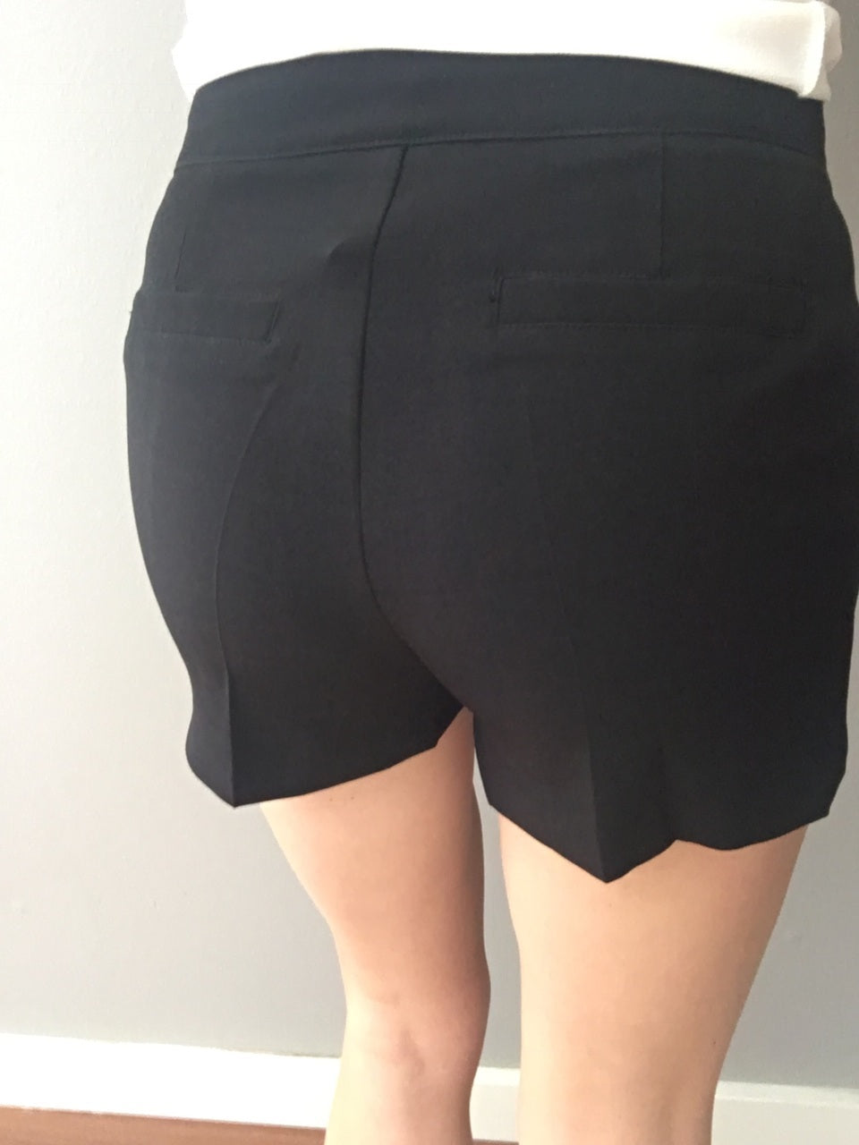 Tailored For You Black Shorts