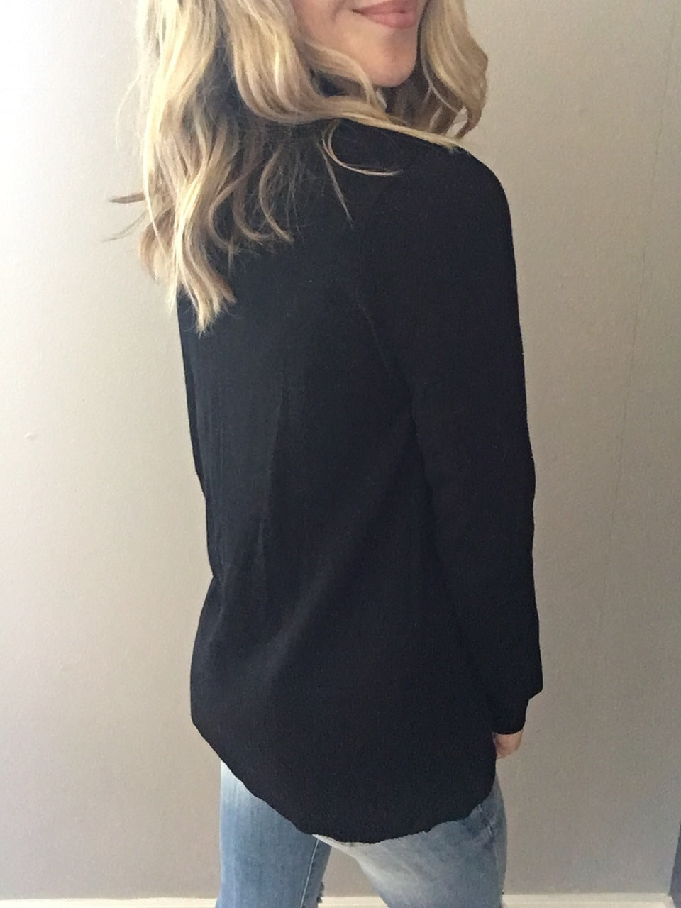 Ever So Cozy Cardigan - Black