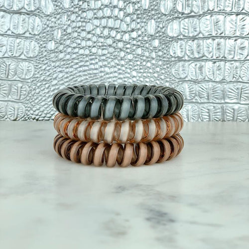 Hotline Hair Ties- Tan Lines Set