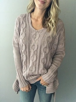 Afternoon Glow Sweater