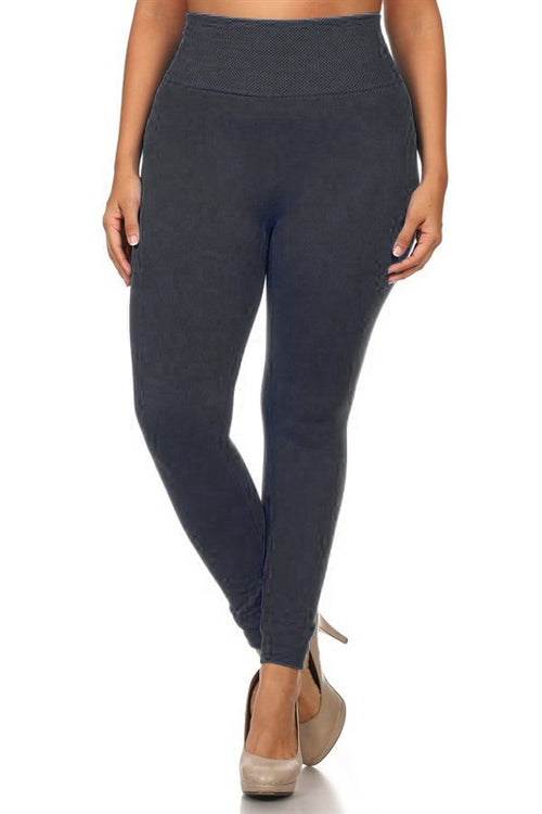 The Best Fleece Leggings - Black
