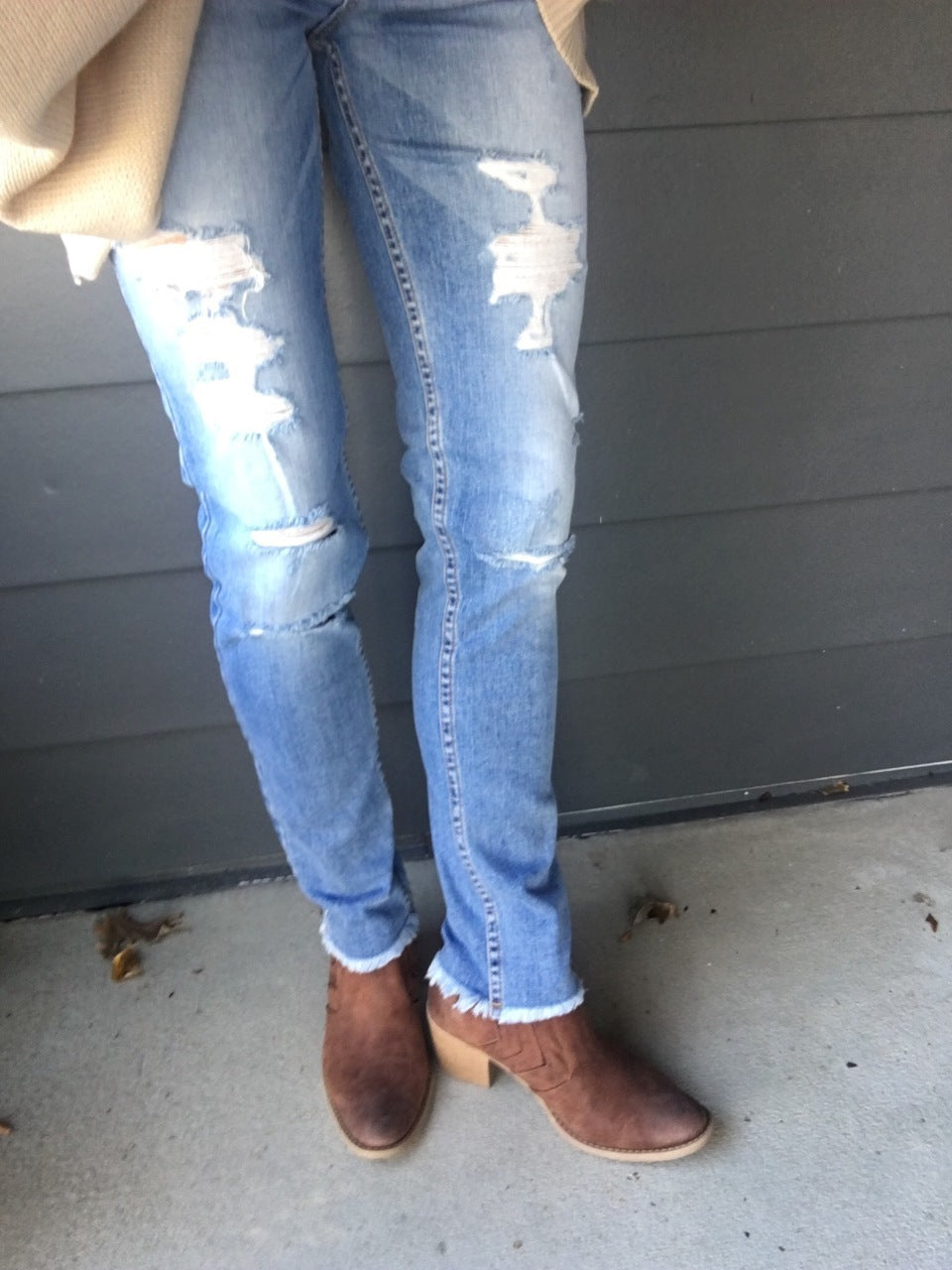 Revival Distressed Denim