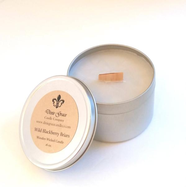 Wild Blackberry Briars Candles