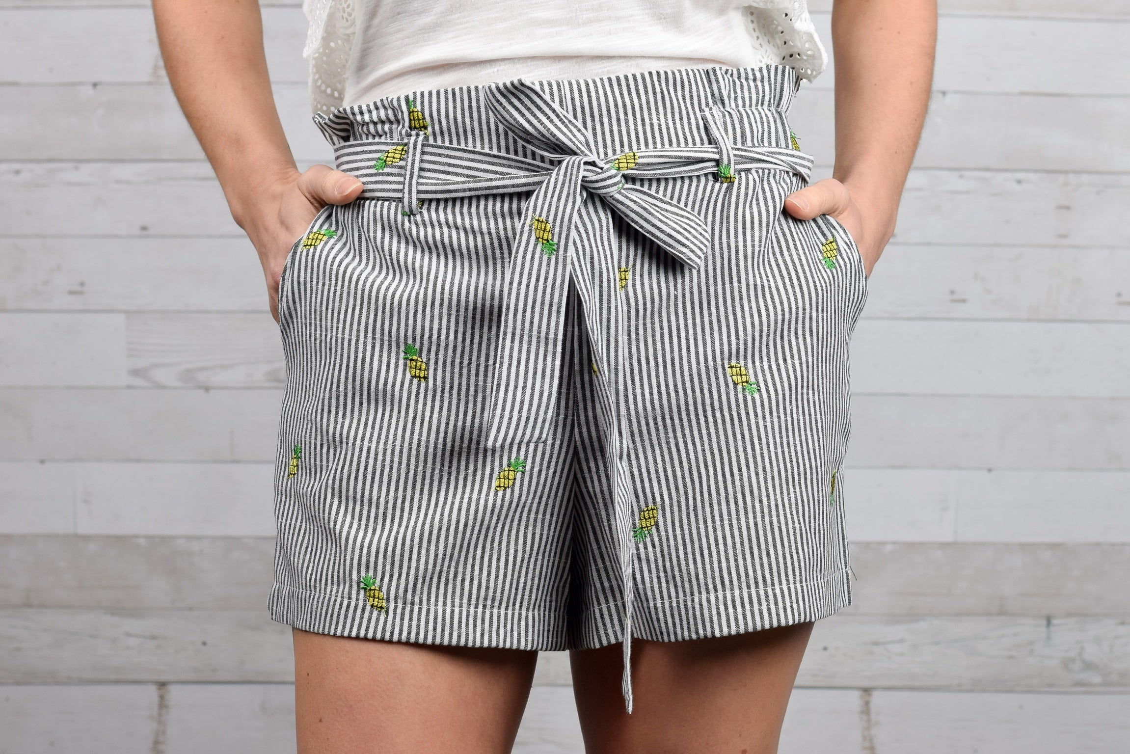 Vacation Vibes Pineapple Shorts