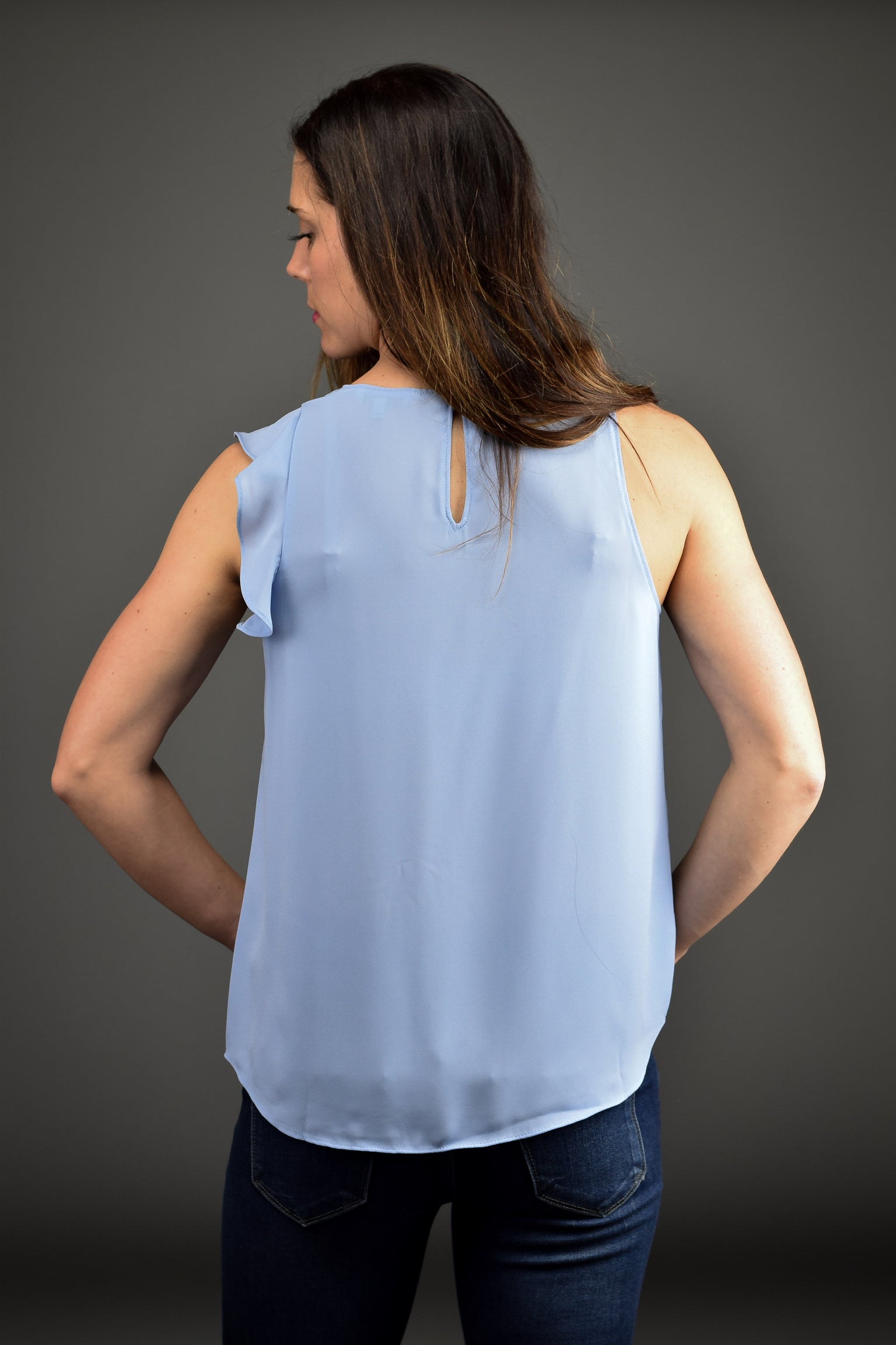 Move Along Ruffle Sleeve Tank