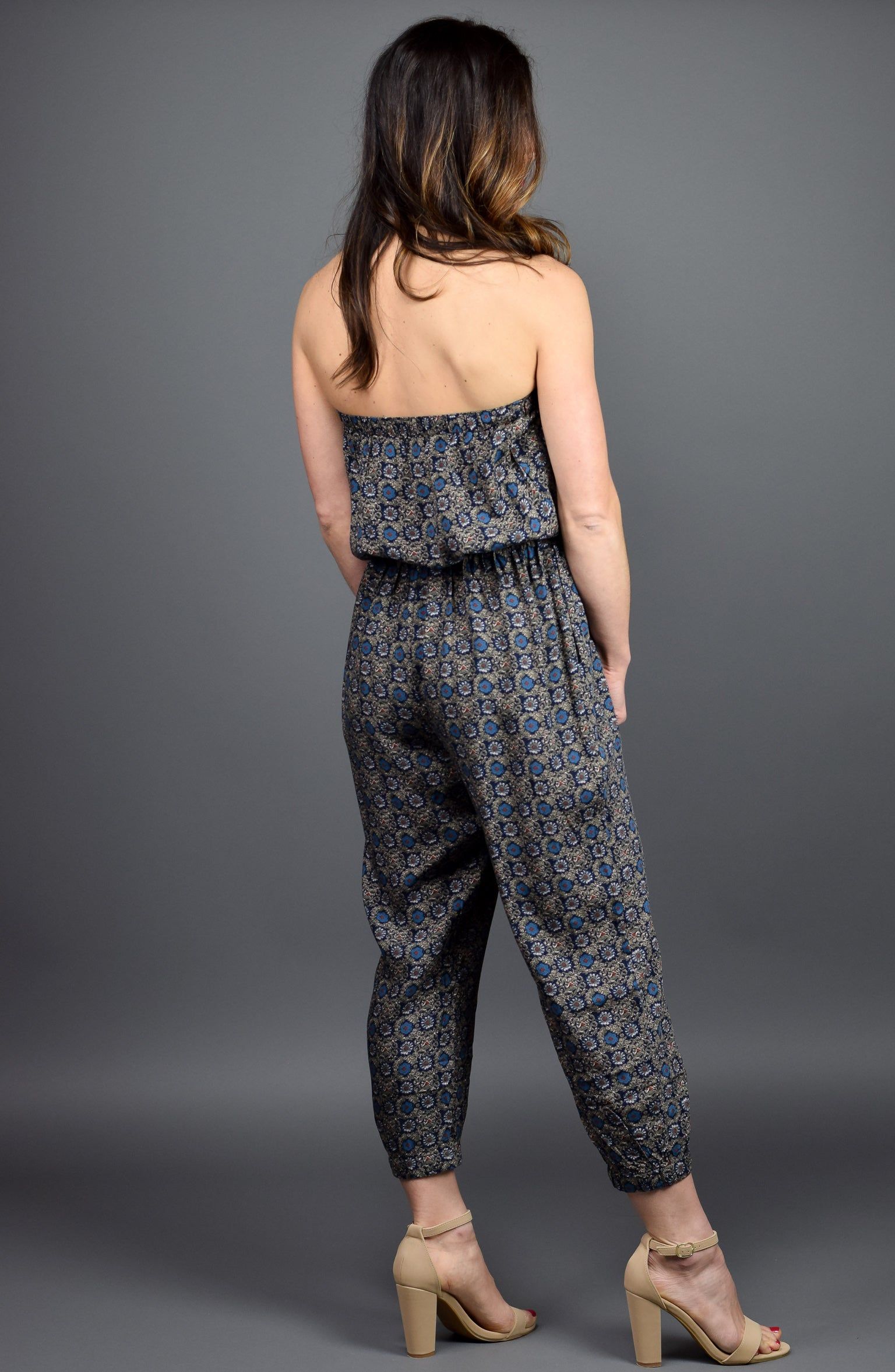 In The Moment Paisley Jumpsuit