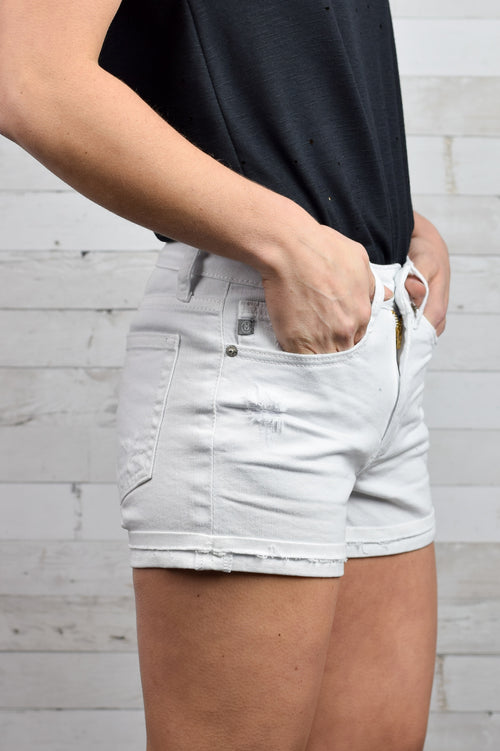 Summer Sunday White Shorts