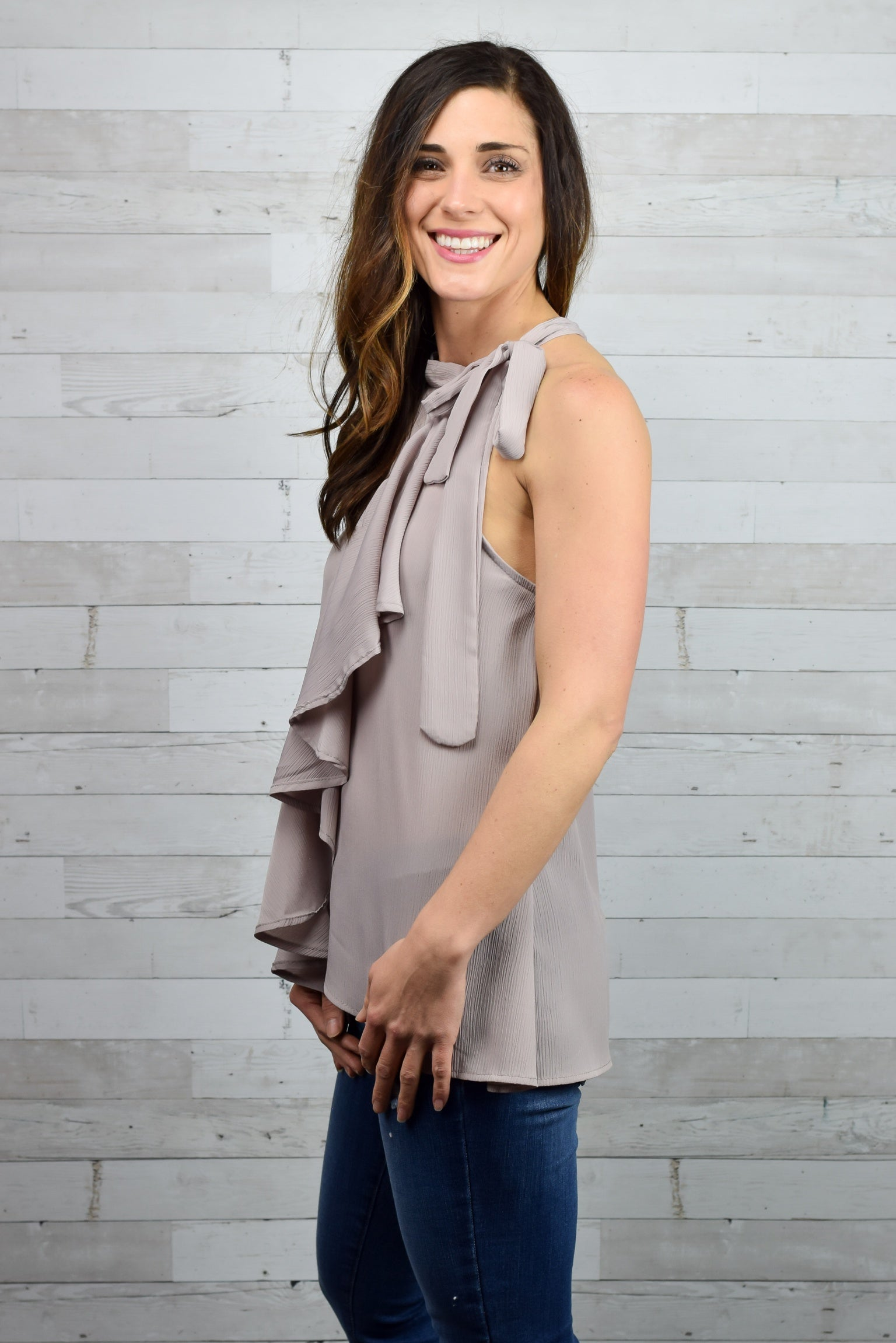 Moving Forward Mauve Tank