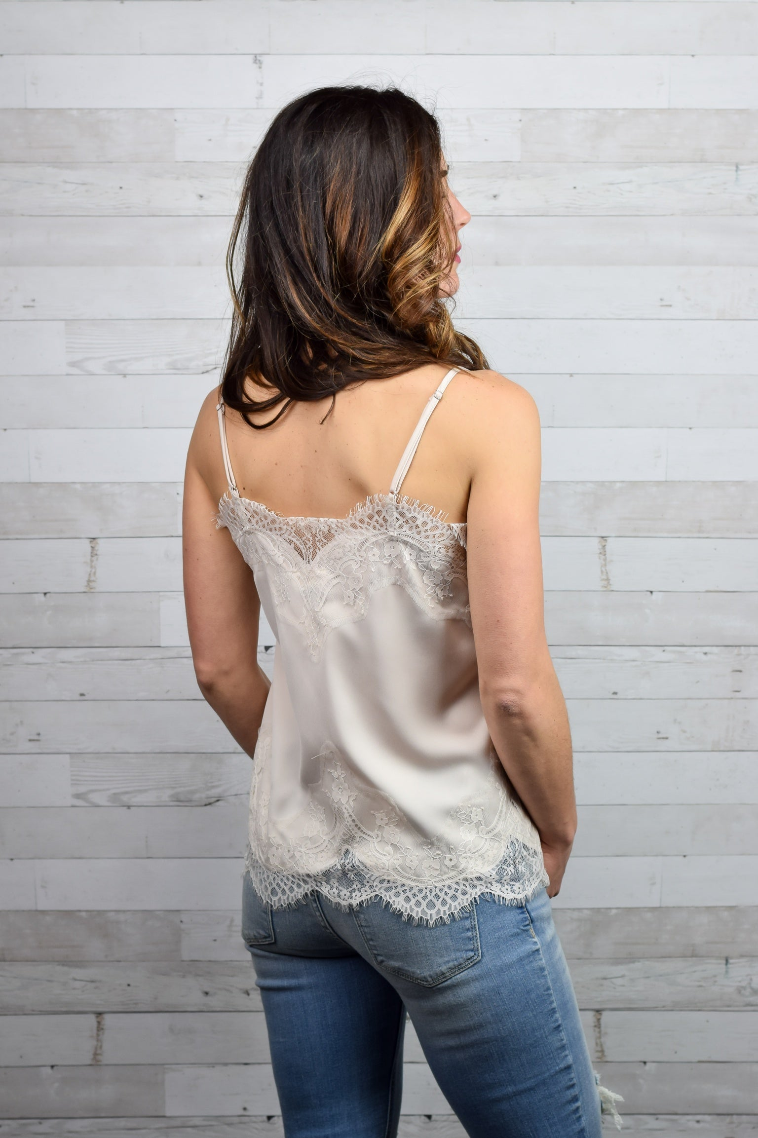 Good Intentions Lace Cami - Ivory