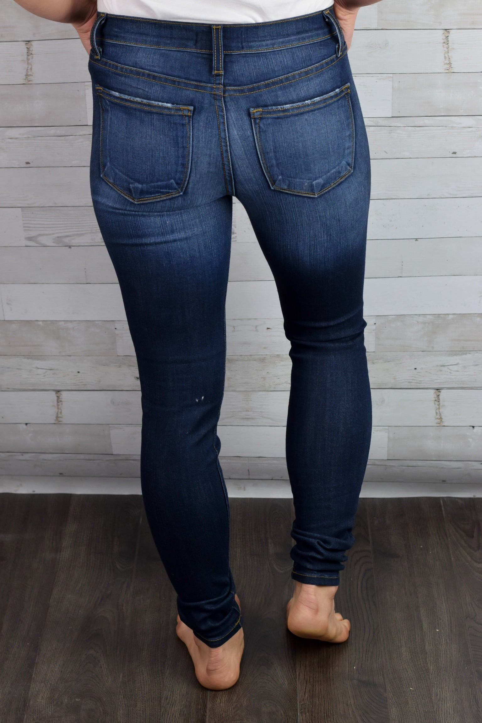 All In The Details Skinny Jeans