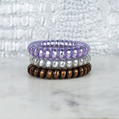 Lavender Crush Hotline Hair Tie Set