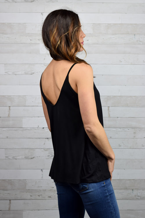 Better Together Tank- Black