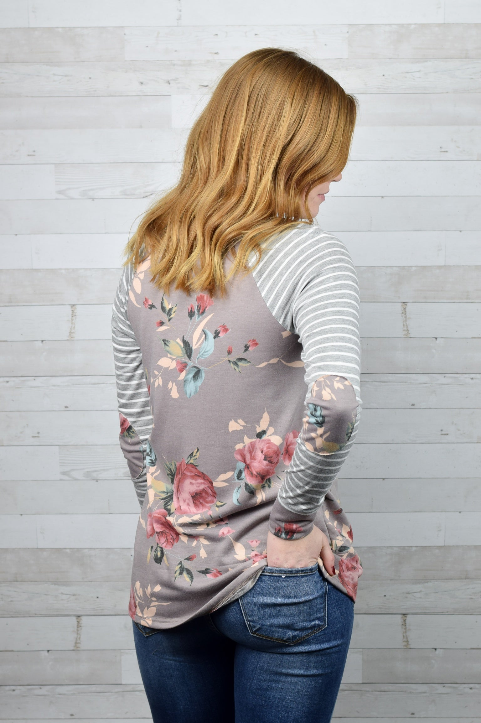 Spring Fever Floral Long Sleeve Top