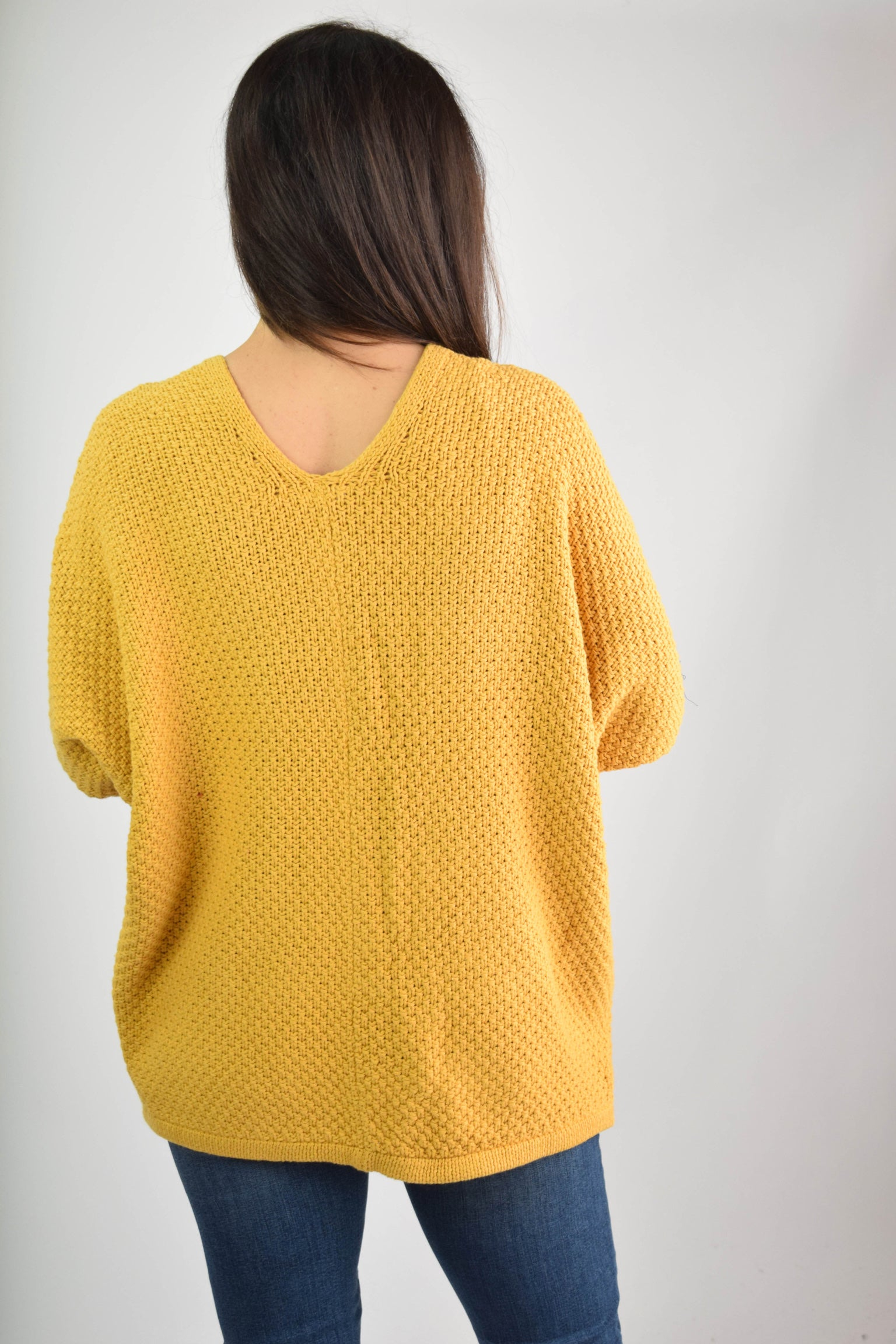 Wild Honey Mustard Knit Cardigan