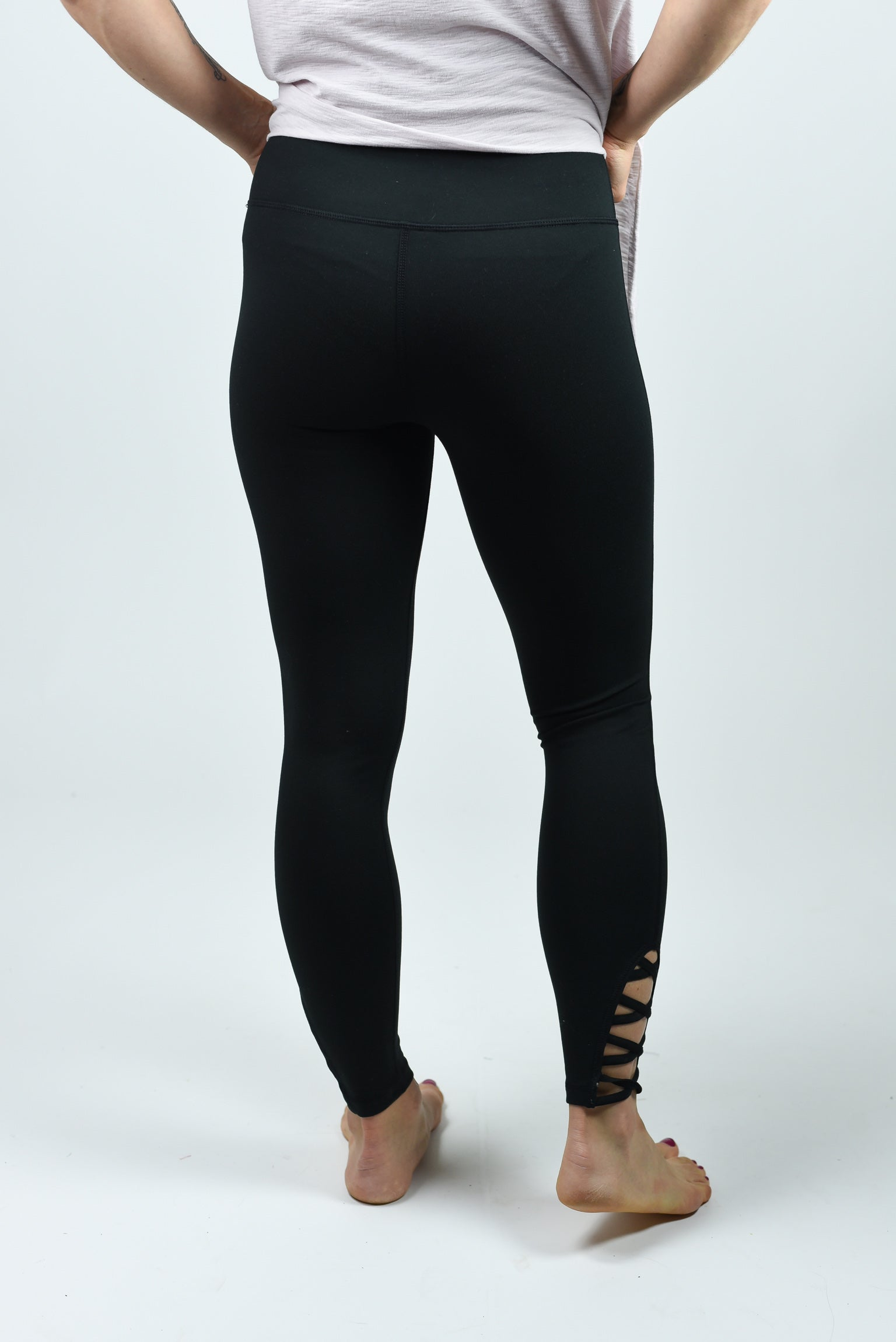Pointe Taken Black Leggings