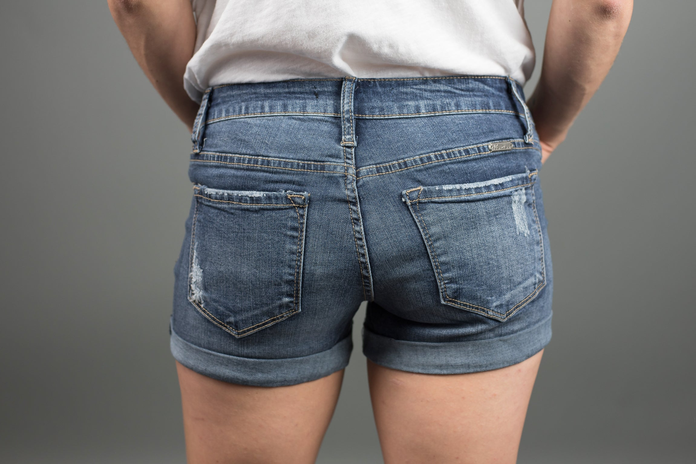 Newport Beach Denim Shorts