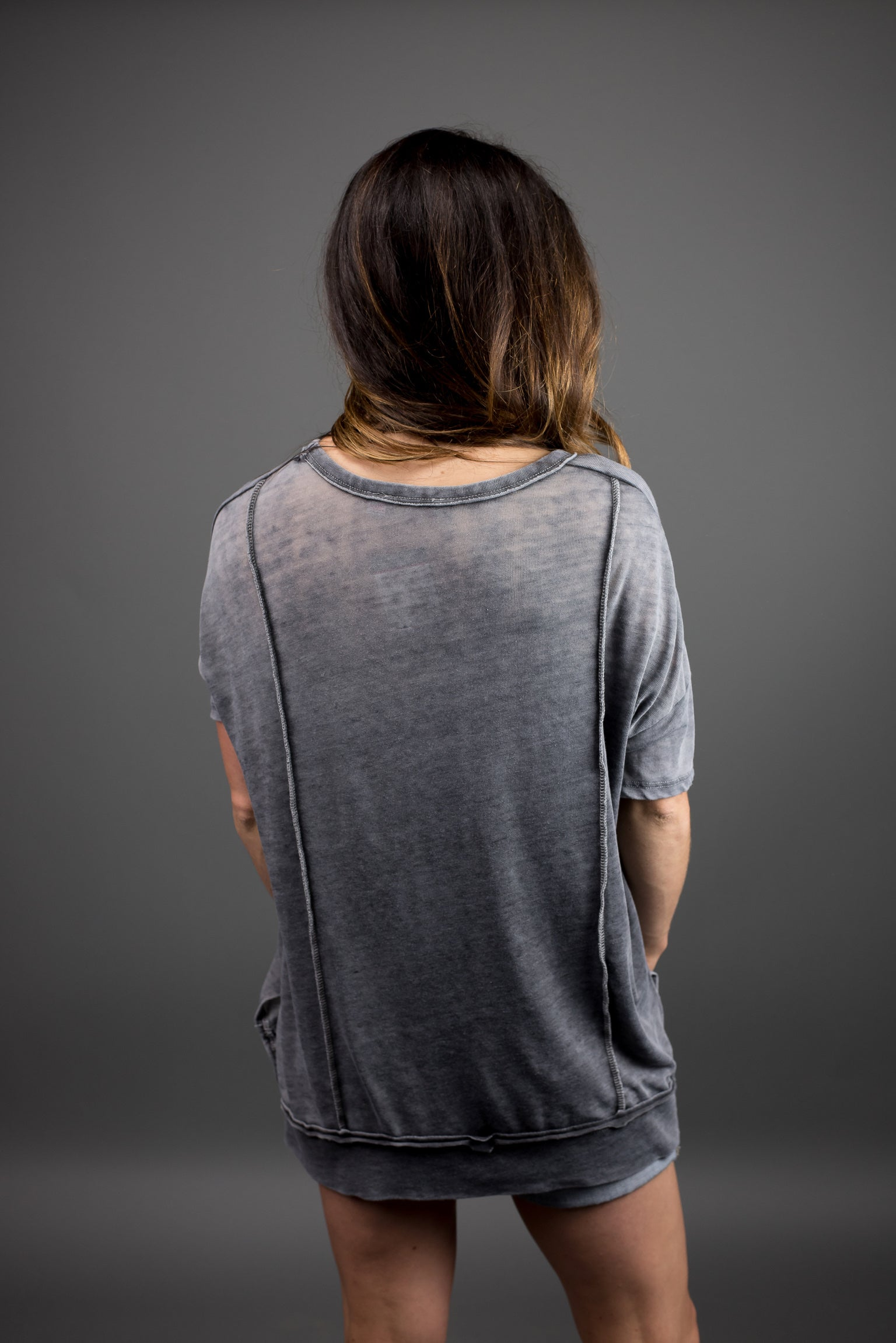 Less is More Burnout Tee