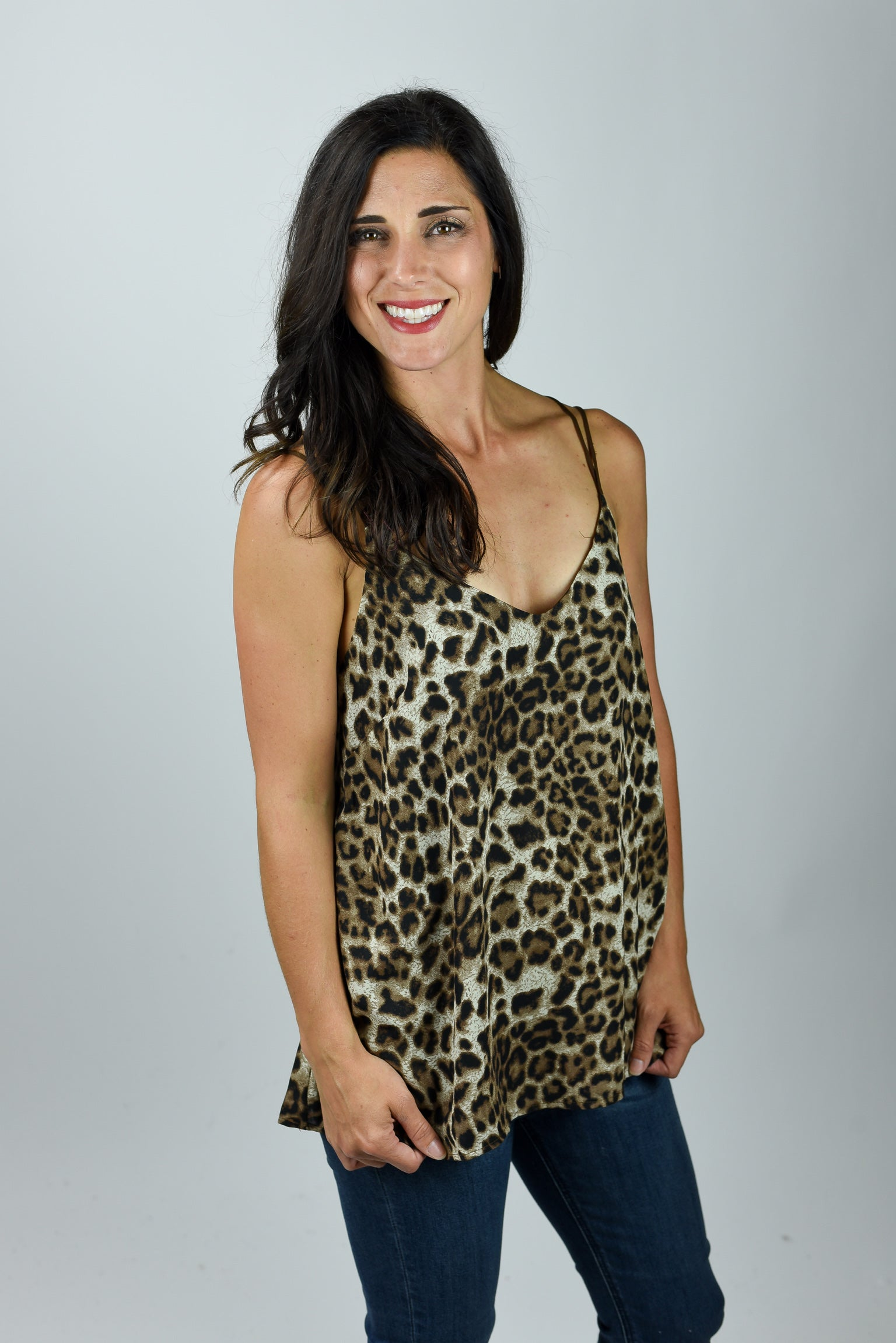 Bringing Out My Wild Side Leopard Print Tank