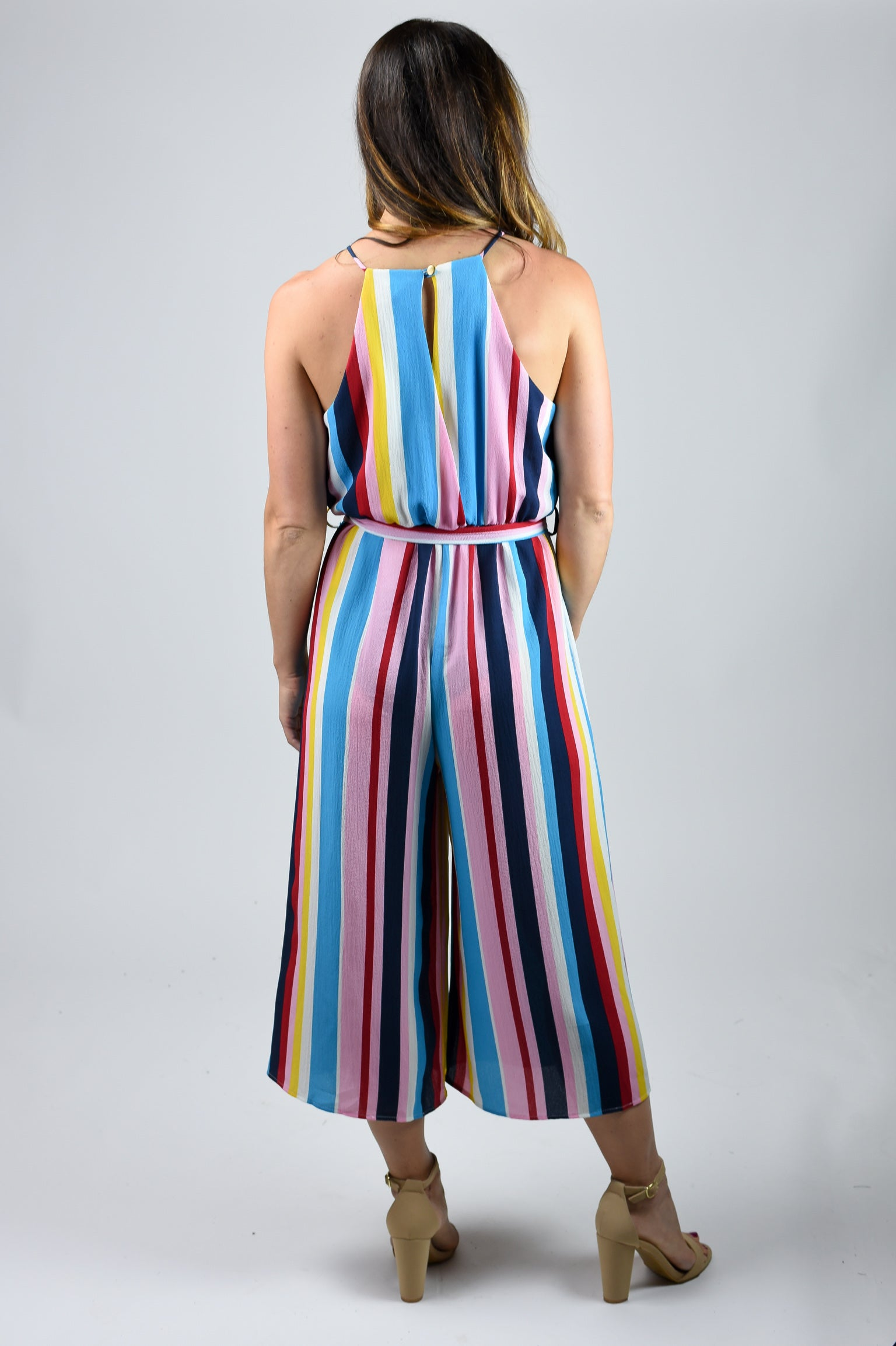 Savannah Sunset Multicolored Jumpsuit